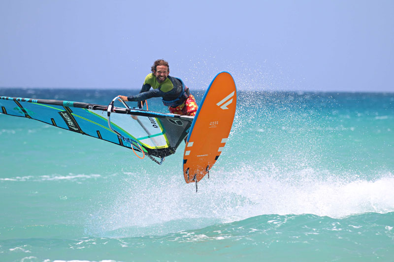 Windsurf Clinics mit Tom Brendt
