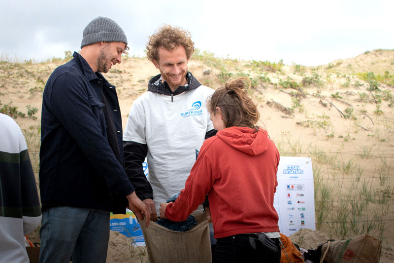 Beach Clean Up in Falckenstein am 5. August