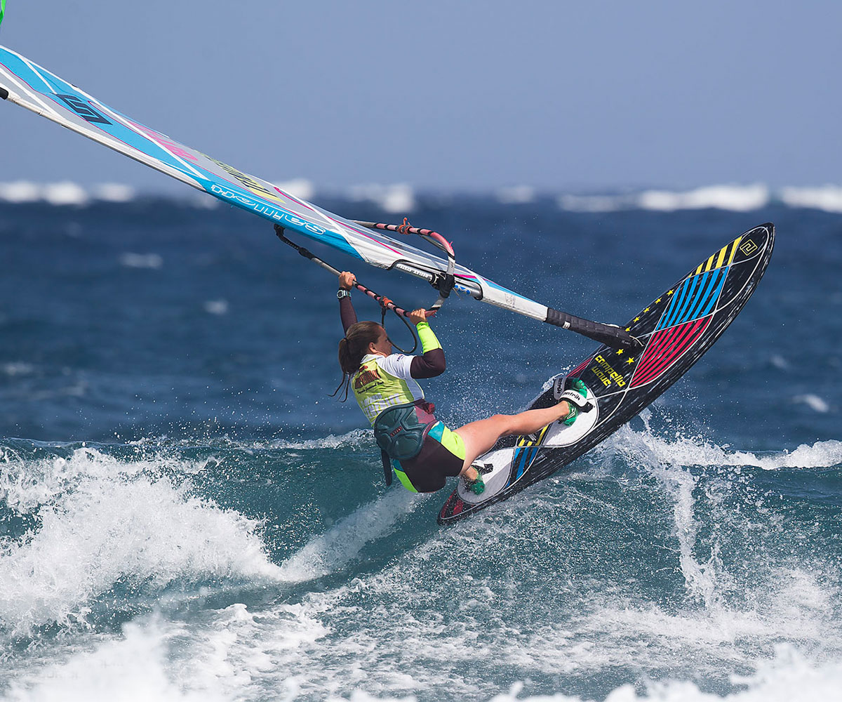 Caro Weber im Interview: Team Germany beim Windsurf World Cup Sylt 2017