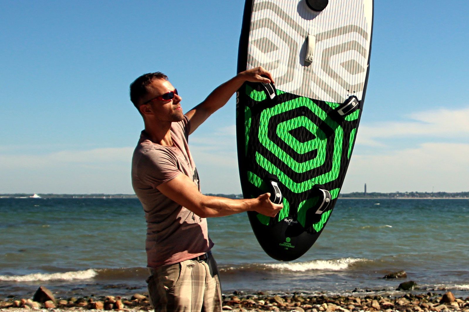 DUO Board & Rigg im WINDSURFERS Quick-Test