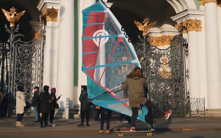 Windsurfing in St. Petersburg -  Shamil Ageev