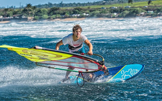 Windsurfers at home: Henri Kolberg