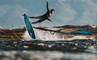 WINDSURFERS at home: Niclas Nebelung