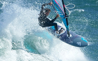 WINDSURFERS at home: Klaas Voget
