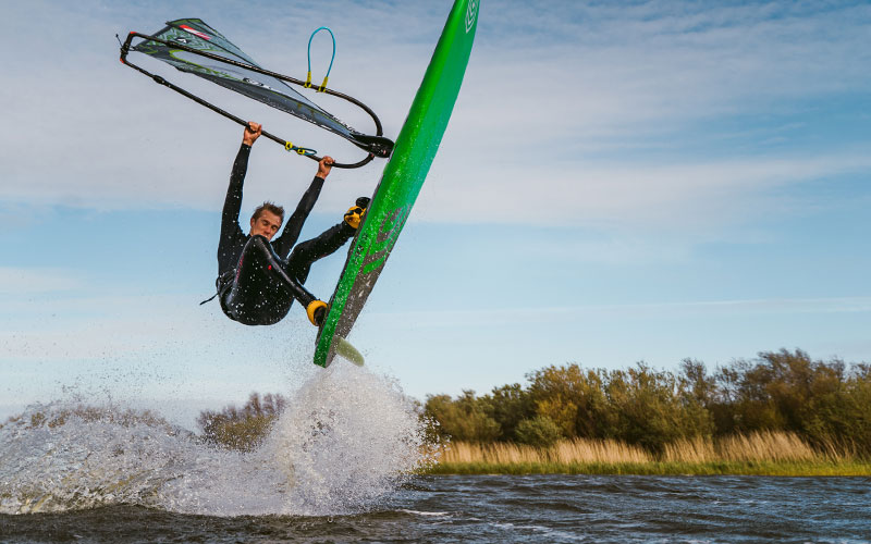 WINDSURFERS at home: Valentin Böckler