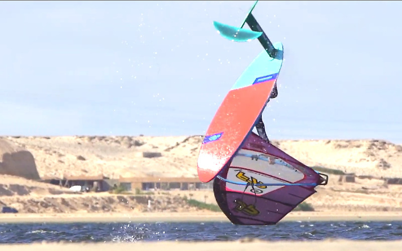 WindFoil Freestyle Training - Sam Esteve