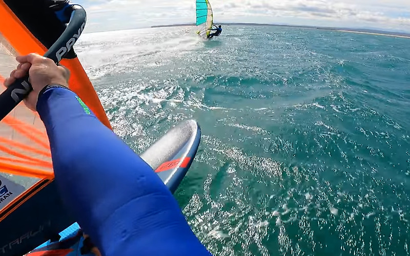 Speed Sail Tests - Andy Laufer & Antoine Albeau