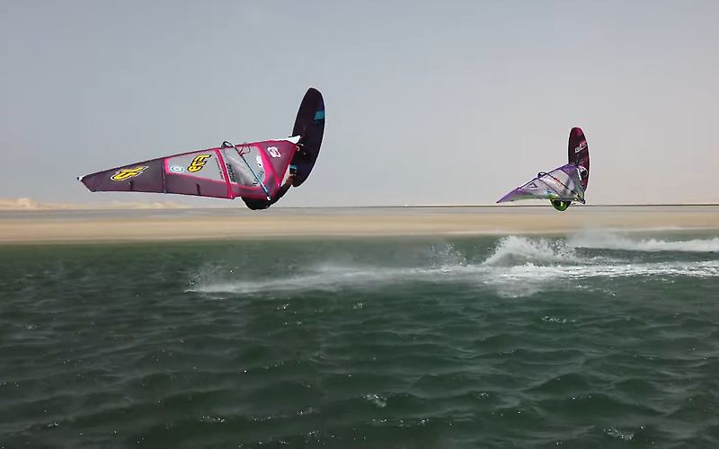 Windsurf Duo - Julien Mas & Sam Esteve