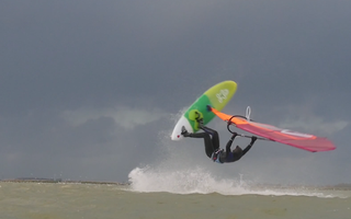 Film about windsurfing - Oda Johanne