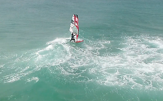 Windsurfing in Portugal - Maria Andres